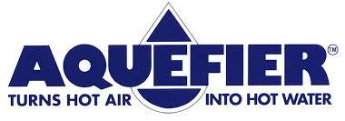 Aquefier hot water logo