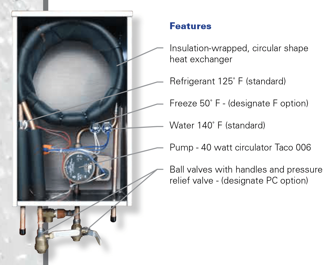 Hot Water Recovery Diagram